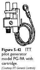 ITT pilot generator PG 9A Thermopiles (Pilot Generators)