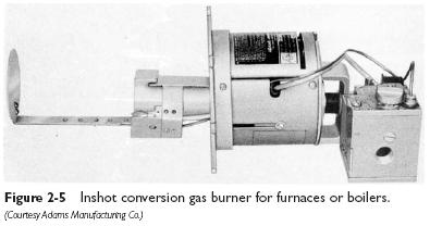 inshot gas burner Types of Gas Burners