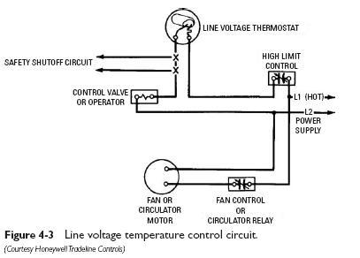line voltage temp control Heating Temperature Control Circuits