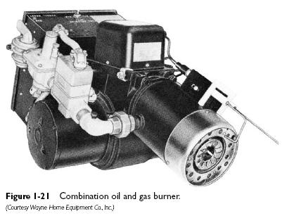oil gas burner Combination Oil and Gas Burners
