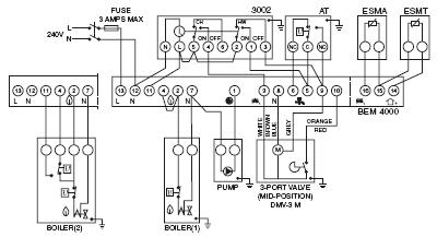 danfoss bem 4000 boiler energy manager | heater service ... wiring diagram for nest thermostat #9